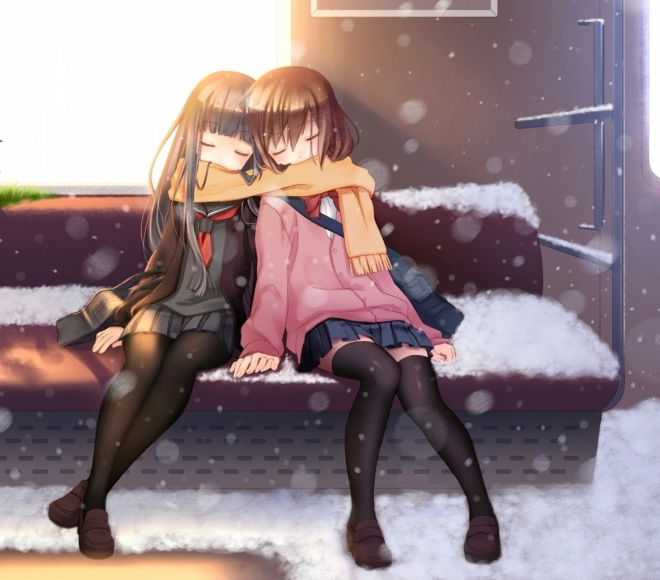 snow_trains_thigh_highs_sleeping_scarf_anime_girls_1500x1061_wallpaper_Wallpaper_1600x1200_www.wallpaperswa.com